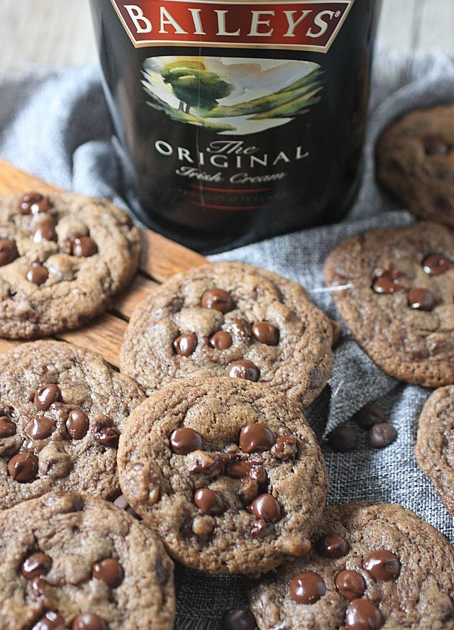 Baileys Irish Cream Chocolate Chip Cookie Recipe