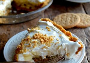 Bourbon Banana Cream Pie Recipe