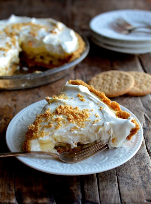 Bourbon Banana Cream Pie Recipe