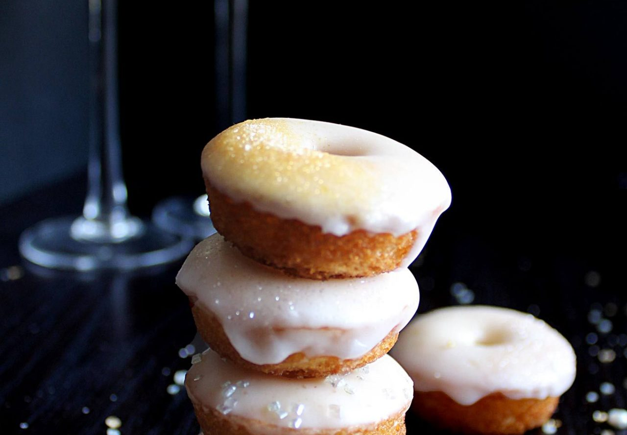 Champagne Glazed Donuts Recipe