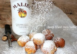 Deep Fried Rum Balls Recipe