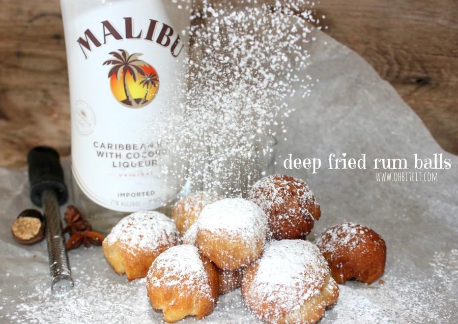 Deep Fried Rum Balls Recipe