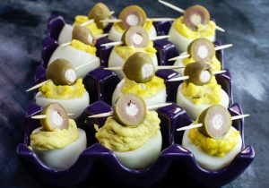 Dirty Martini Eggs Recipe