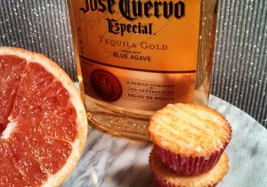 Grapefruit Muffins with Tequila Glaze Recipe