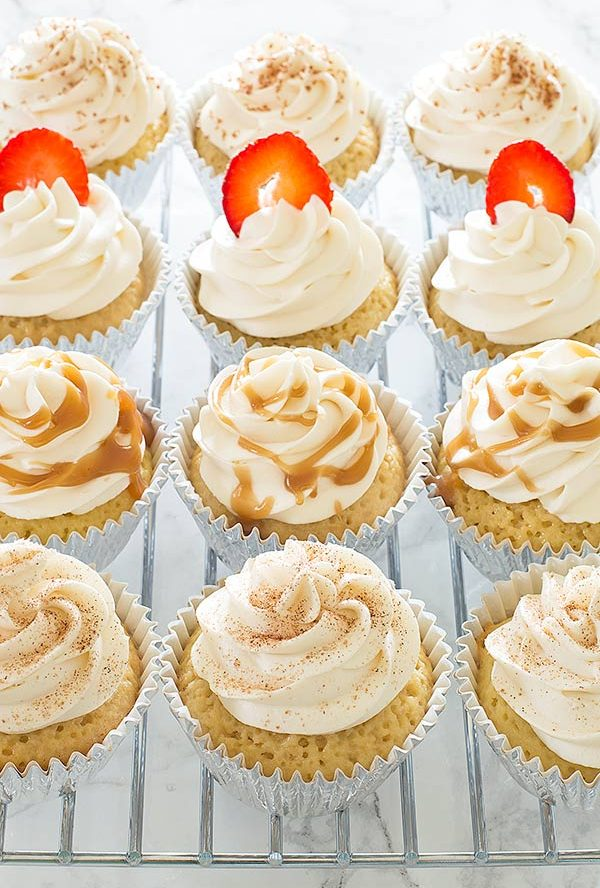 Kahlua Tres Leches Cupcake Recipe