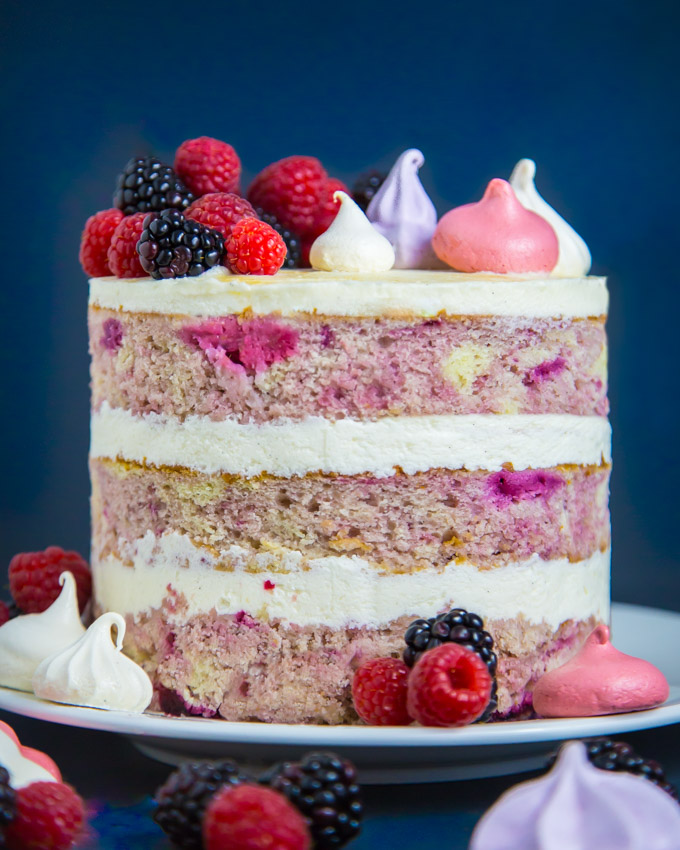 Berry Bourbon Cake Recipe