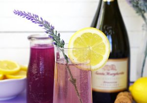 Lavender Lemonade Prosecco Cocktail Recipe