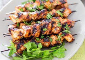 Beer and Honey BBQ Chicken Kabob Recipe