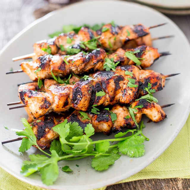 Beer and Honey BBQ Chicken Kabob Recipe