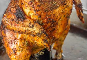 Beer Can Roasted Chicken Recipe
