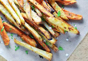 Beer Soaked Garlic Rosemary Fries Recipe