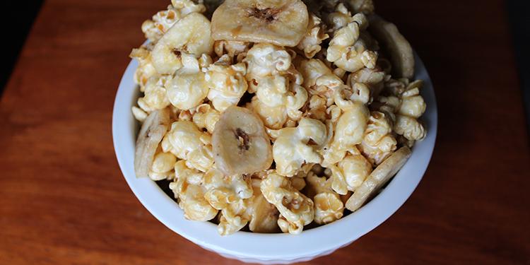 Boozy Banana Popcorn Recipe