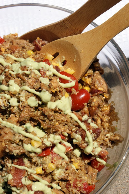 Boozy Chipotle Chicken and Quinoa Salad Recipe