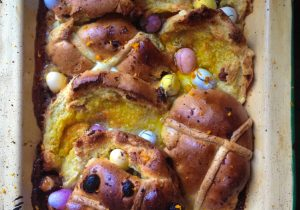 Boozy Hot Cross Buns Recipe