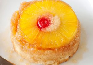 Boozy Mini Pineapple Upside Down Cake Recipe