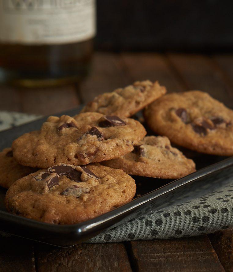 Bourbon Pecan Chocolate Chip Cookies Recipe