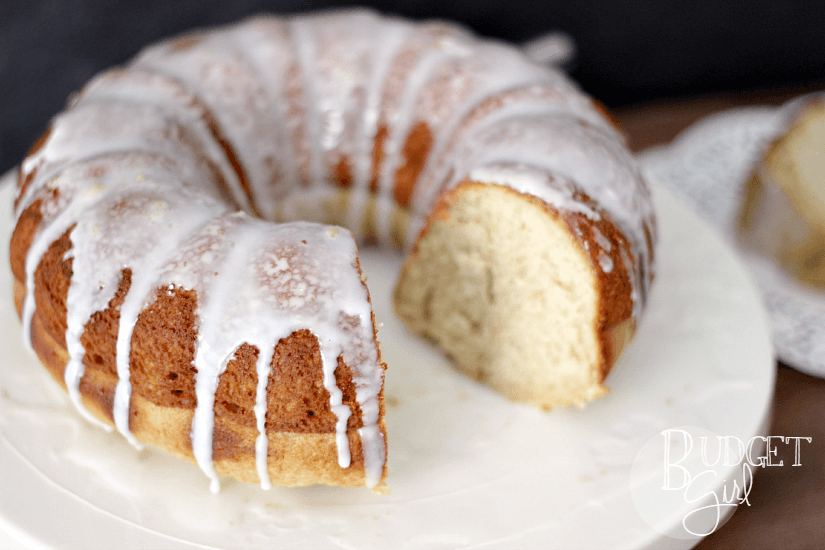 Butter Pecan Bourbon Cake Recipe