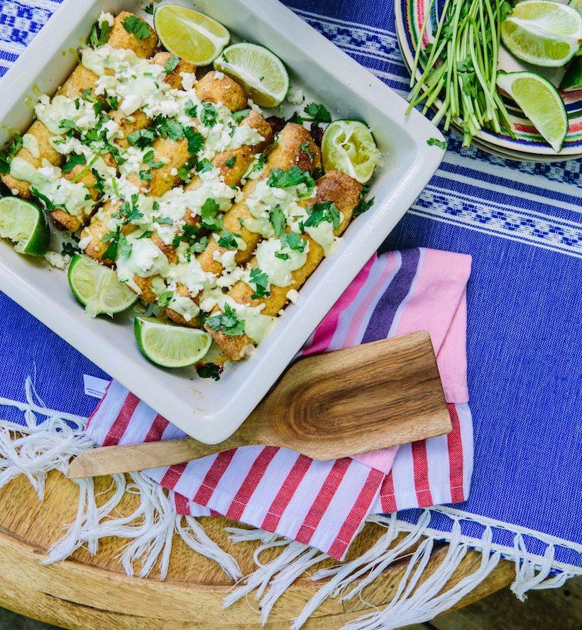 Chicken Tequila Taquitos Recipe