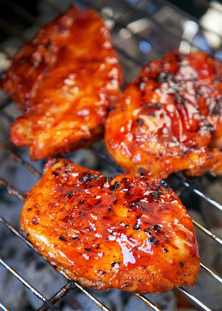 Fireball Whiskey Glazed Chicken Recipe