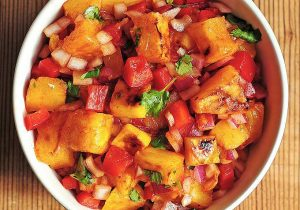 Grilled Pineapple Mango Salsa Recipe