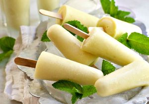 Pina Colada Mini Popsicles Recipe