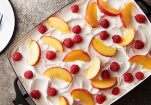 Sangria Poke Cake Recipe