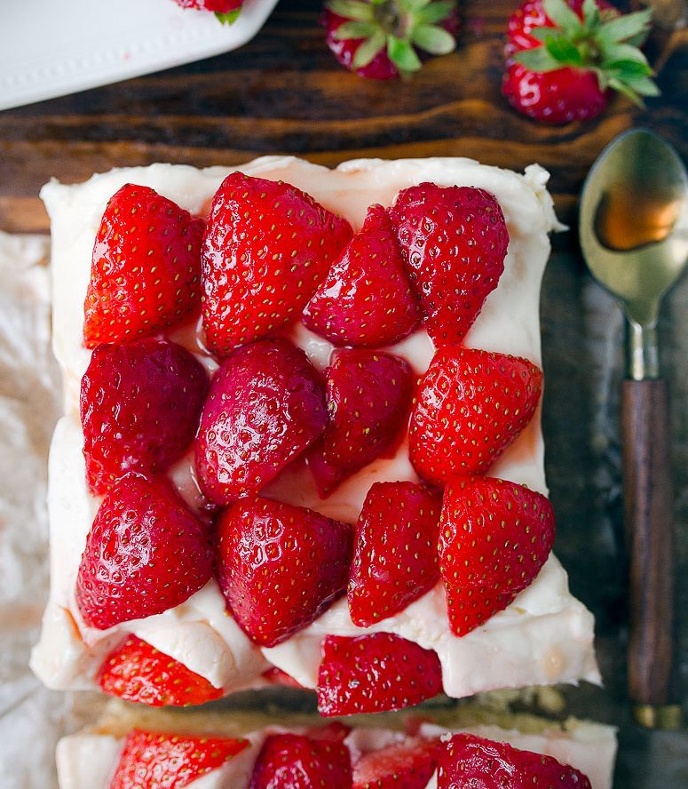 Strawberry Shortcake Bars Recipe