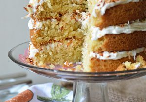 Triple Coconut Rum Cake Recipe