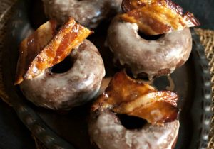 Maple Bourbon Bacon Chocolate Donut Recipe