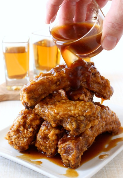 Chicken Fried Ribs with Whiskey Glaze Recipe