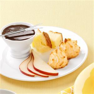 Chocolate Rum Fondue Recipe