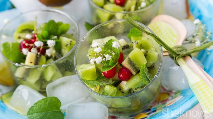 Kiwi Caipiroska Salad Recipe