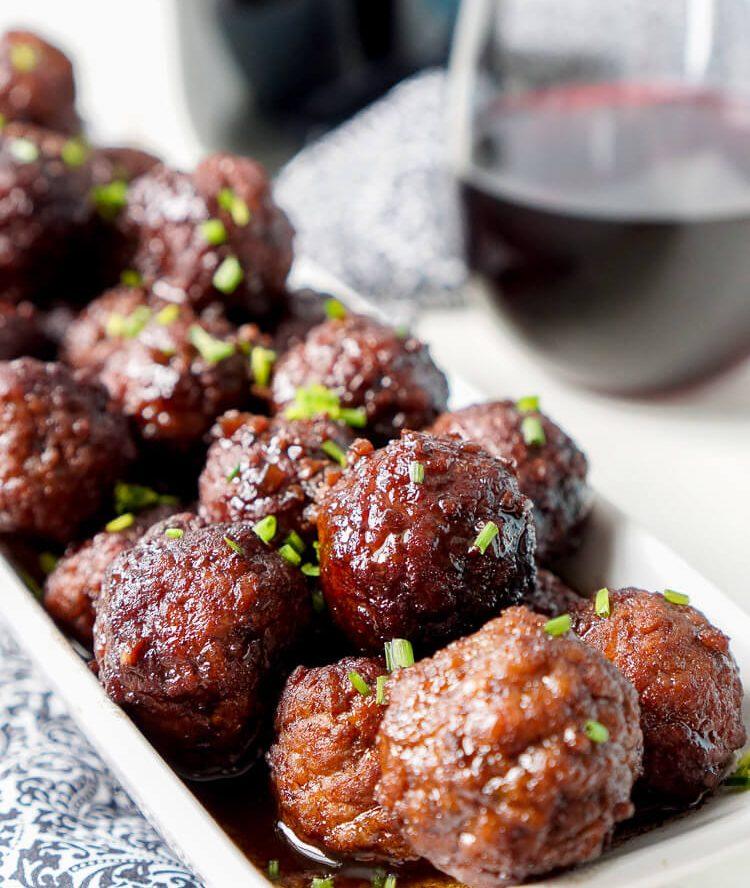 Merlot Meatballs Recipe