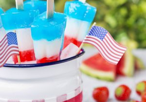 Red White and Booze Popsicle Recipe