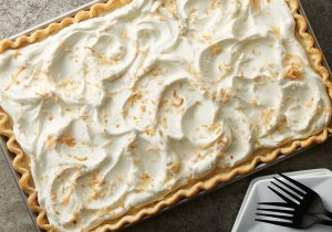 Rum Spiked Coconut Cream Pie Bars Recipe
