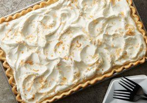 Rum Spiked Coconut Cream Pie Bars Recipe