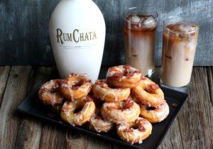 Rumchata Bacon Donuts