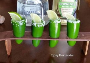 Spicy Tequila Shots