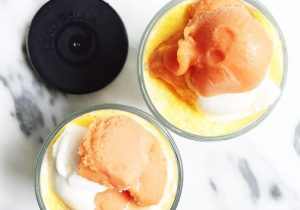 Boozy Creamsicle Floats