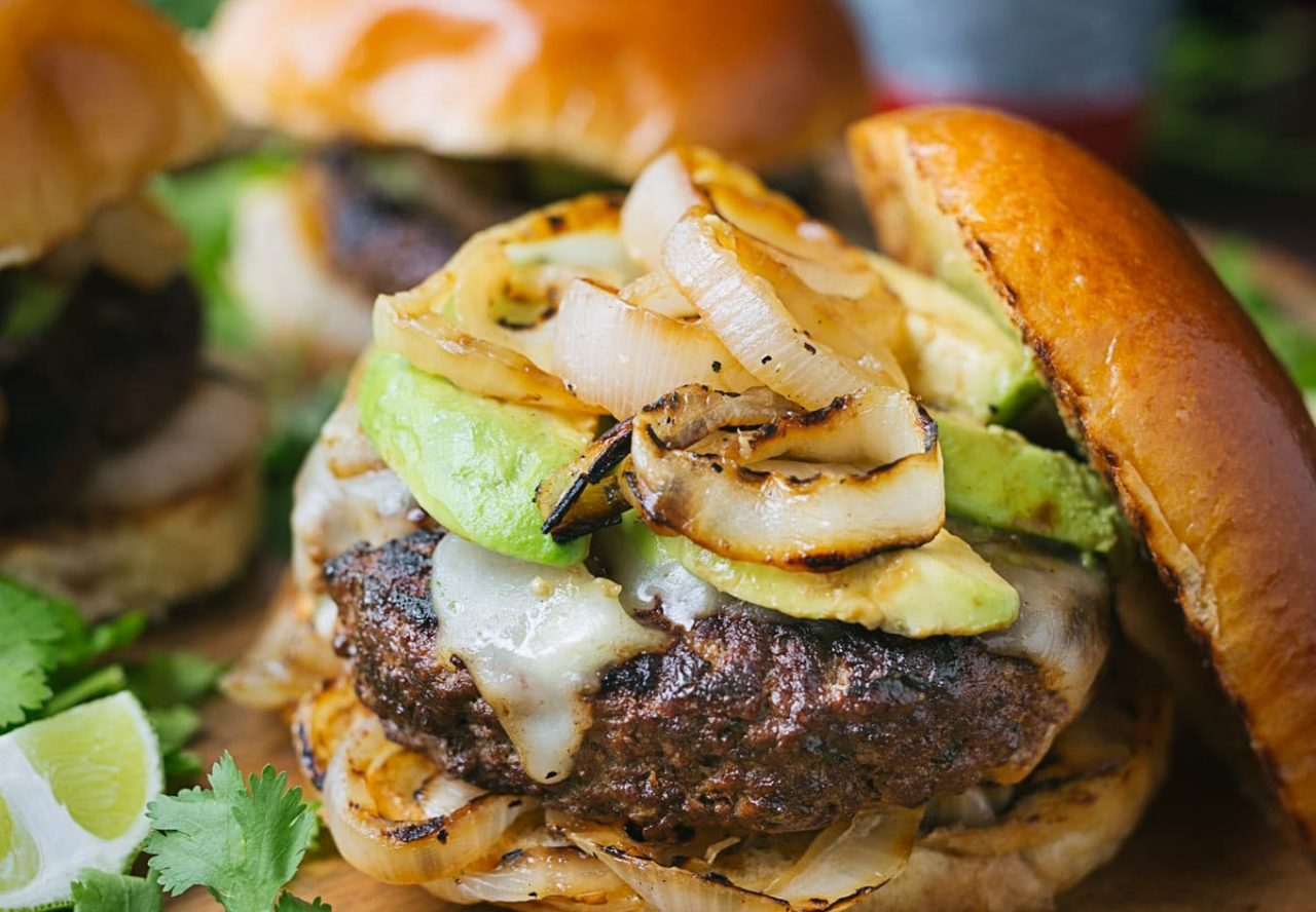 Burgers with Tequila-Lime Aioli