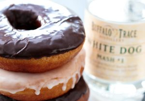 Moonshine Glazed Doughnuts