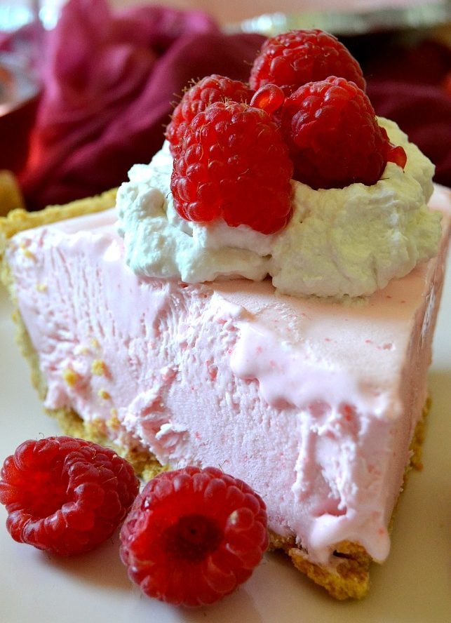 No Bake Rosé Pie