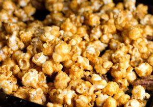 Salted Whiskey Caramel Popcorn