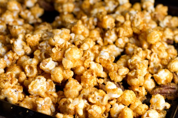 Salted Whiskey Caramel Popcorn