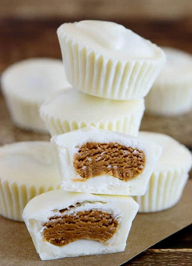 Bourbon Cookie Butter Cups