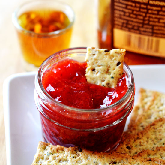 Strawberry Bourbon Jam