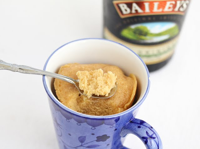 Baileys Irish Cream Mug Cake