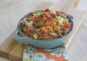 Boozy Bacon Bean Dip