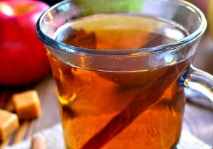 Boozy Butterscotch Crock Pot Apple Cider