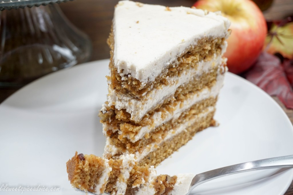 Crown Royal Apple Pecan Cake